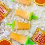 Orange Cream Ice Pops