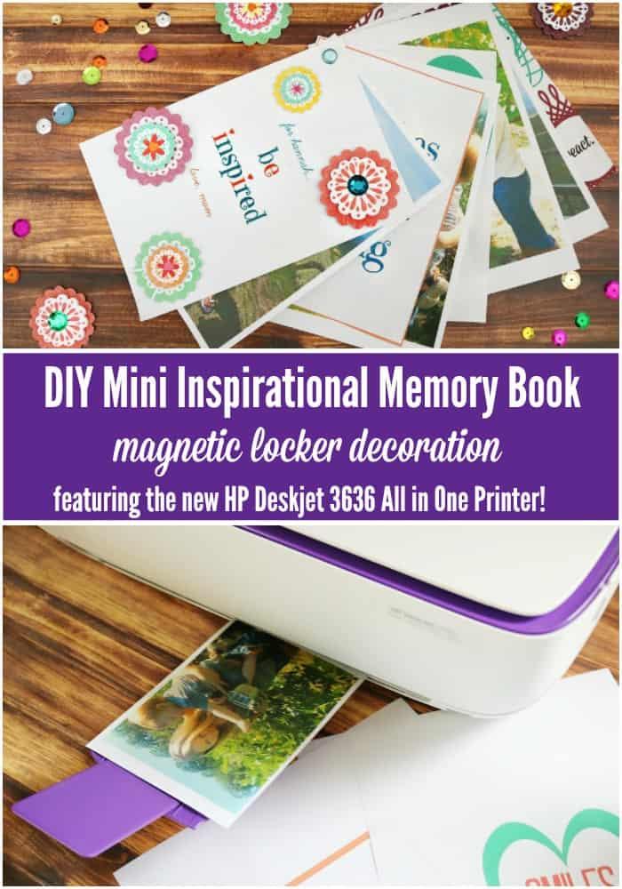 DIY mini memory book