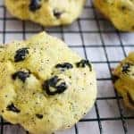 Lemon Poppy Seed Blueberry Cookies