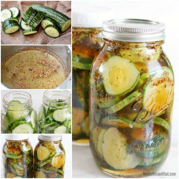 Bread & Butter Refrigerator Pickles in 20 Minutes!