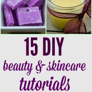 DIY beauty skincare