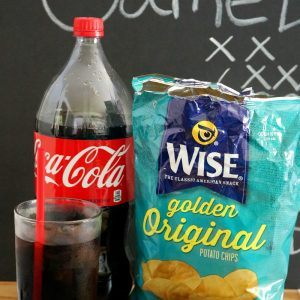 Family Football Game Day Recipes Featuring Wise & Coca-Cola