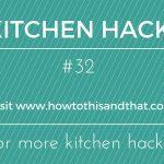 Kitchen Hack- Parmesan Cheese- #32