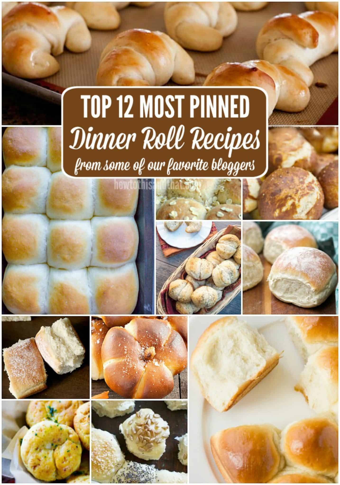 dinner roll recipes