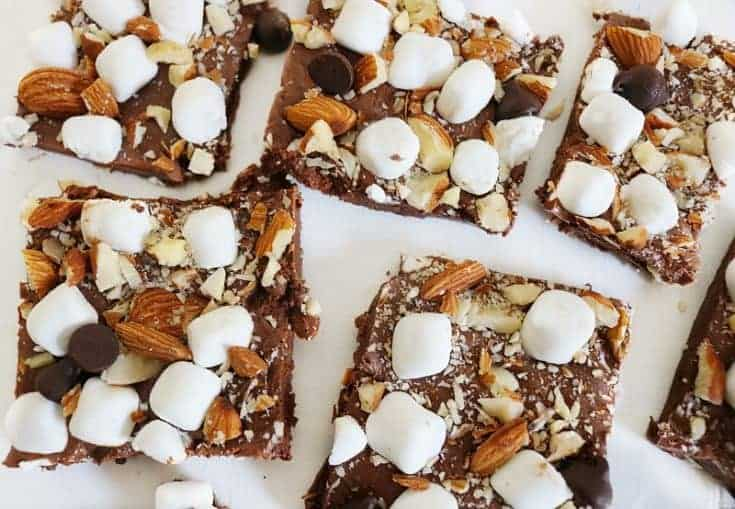 Easy Fudge Recipe- Marshmallow Nutella Magic
