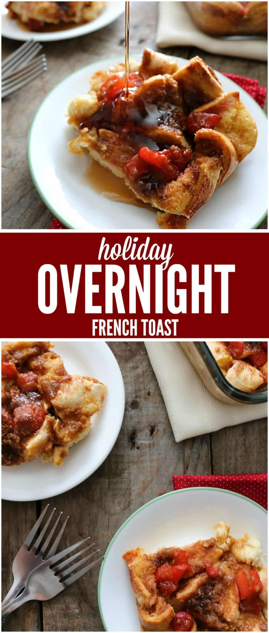 fruity overnight french toast