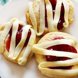 cherry cheesecake danish