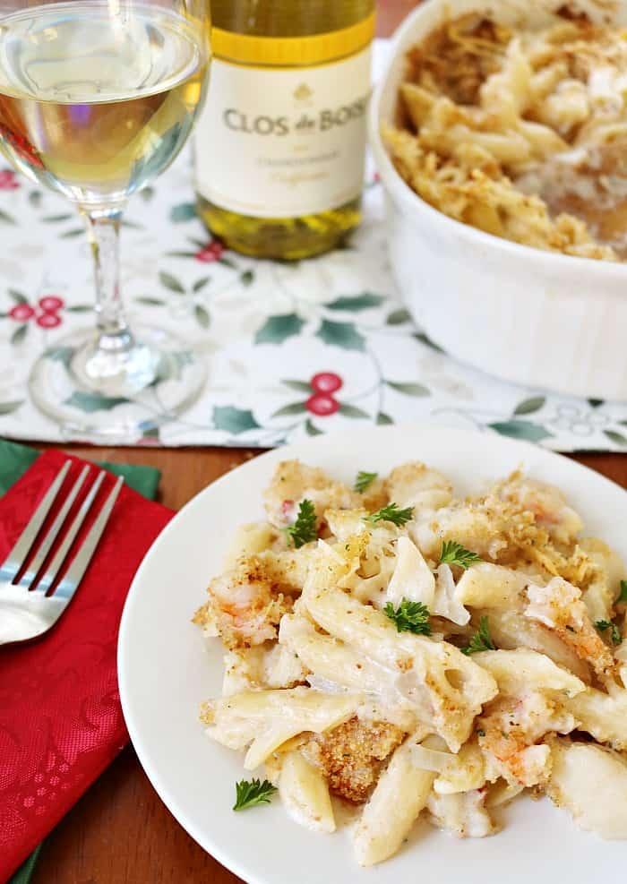 seafood-pasta-bake