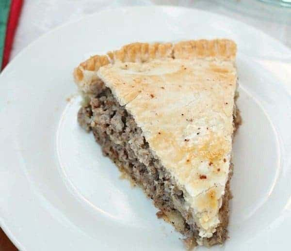Pork Pie- Grandma's Special Tourtiere Recipe
