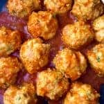 Buffalo Chicken Meatballs- Keto|LC|GF