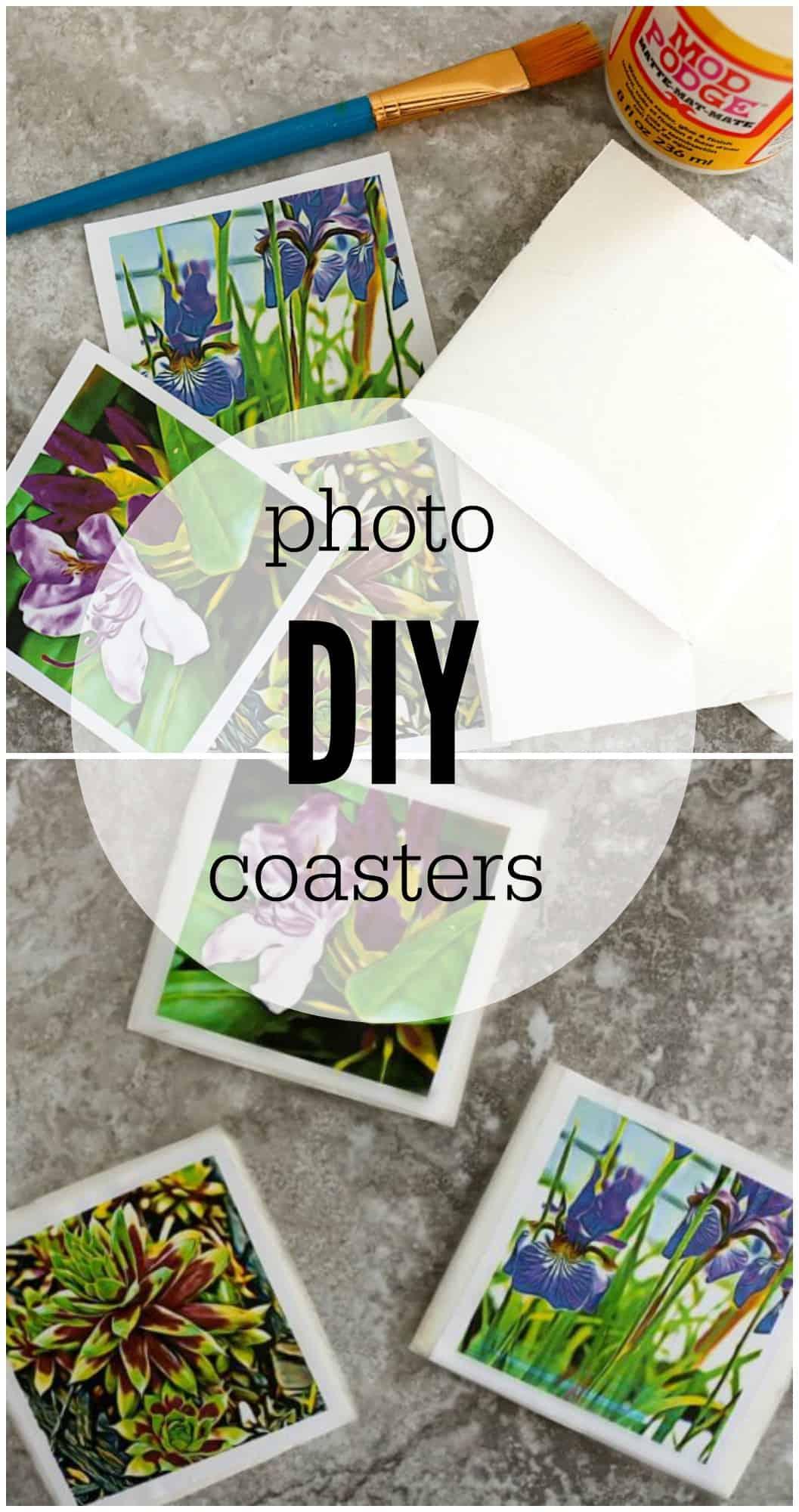 diy photo coasters befunky