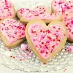 Valentine Sugar Cookies- Super Easy & Adorable!
