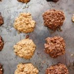 Keto Low Carb NO BAKE NUTTY Peanut Butter Cookies!