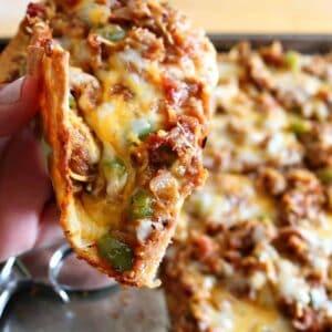 keto fathead pizza bbq pulled pork