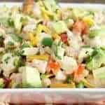 Keto Taco Faux-Tato Salad