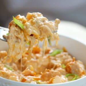 Keto Buffalo Chicken Cauliflower Instant Pot Dish VIDEO