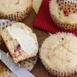 Low Carb Cranberry Orange Muffins