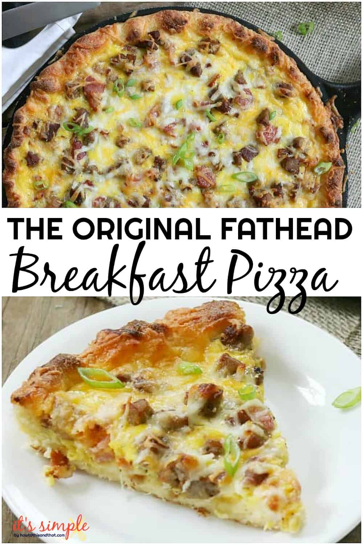 keto breakfast pizza
