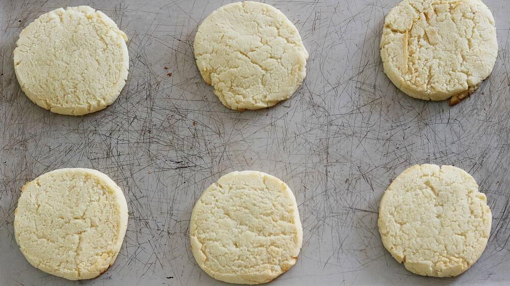 keto fathead sugar cookies process