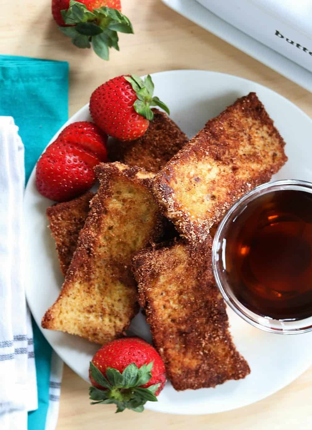 Keto French Toast Sticks Cinnamon Only 1 5 Net Carbs Per