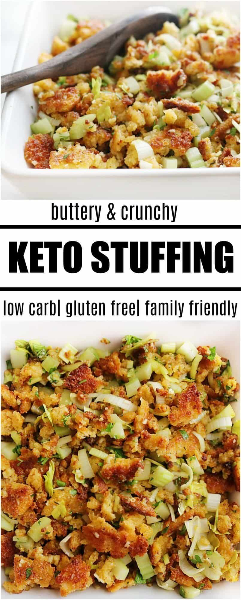 keto stuffing recipe