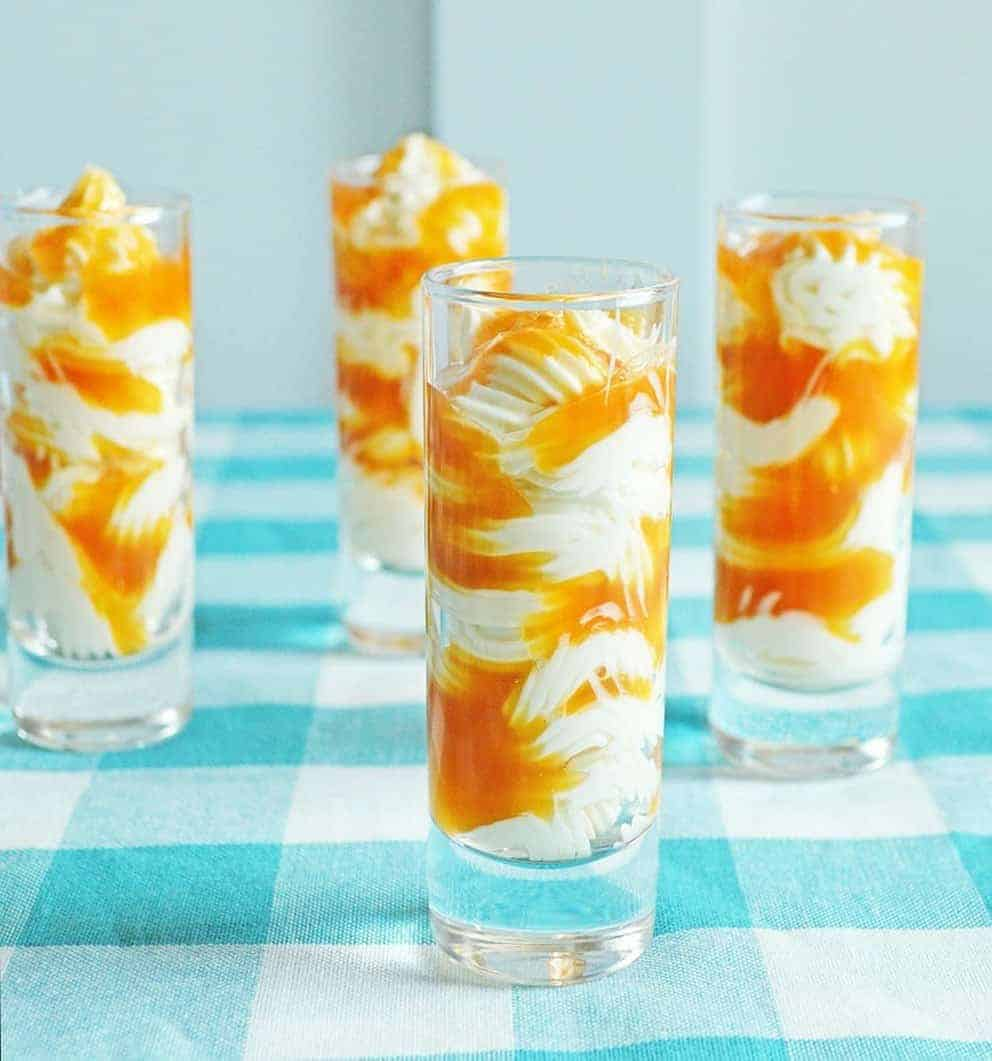 keto cheesecake shooters