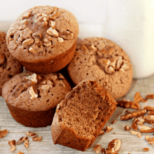 Keto Spiced Pecan Muffins