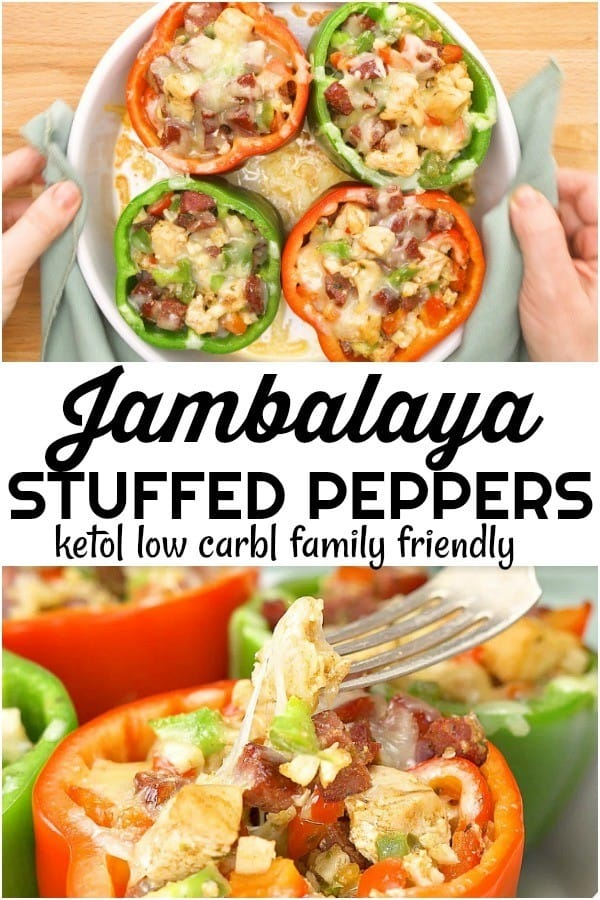 keto stuffed peppers