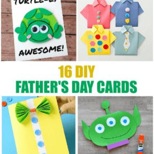 16 Simple DIY Father's Day Cards