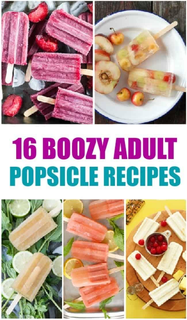 16 diy boozy popsicles