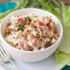 blta chicken salad