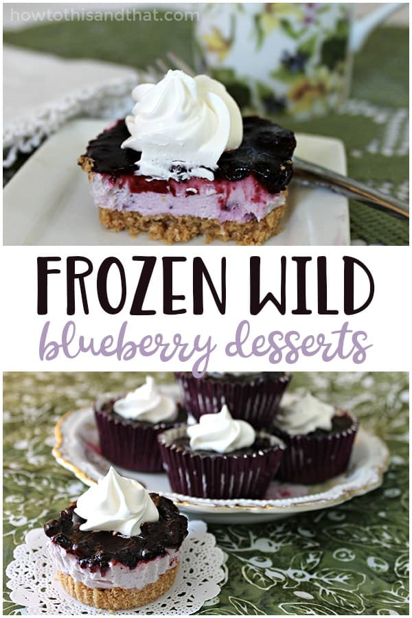 These frozen wild blueberry desserts are the PERFECT summer dessert as our summer is nearing to an end. They are fruity, delicious, and the perfect amount of sweetness. If you're looking for recipes using frozen wild blueberries - this is the one you are looking for!