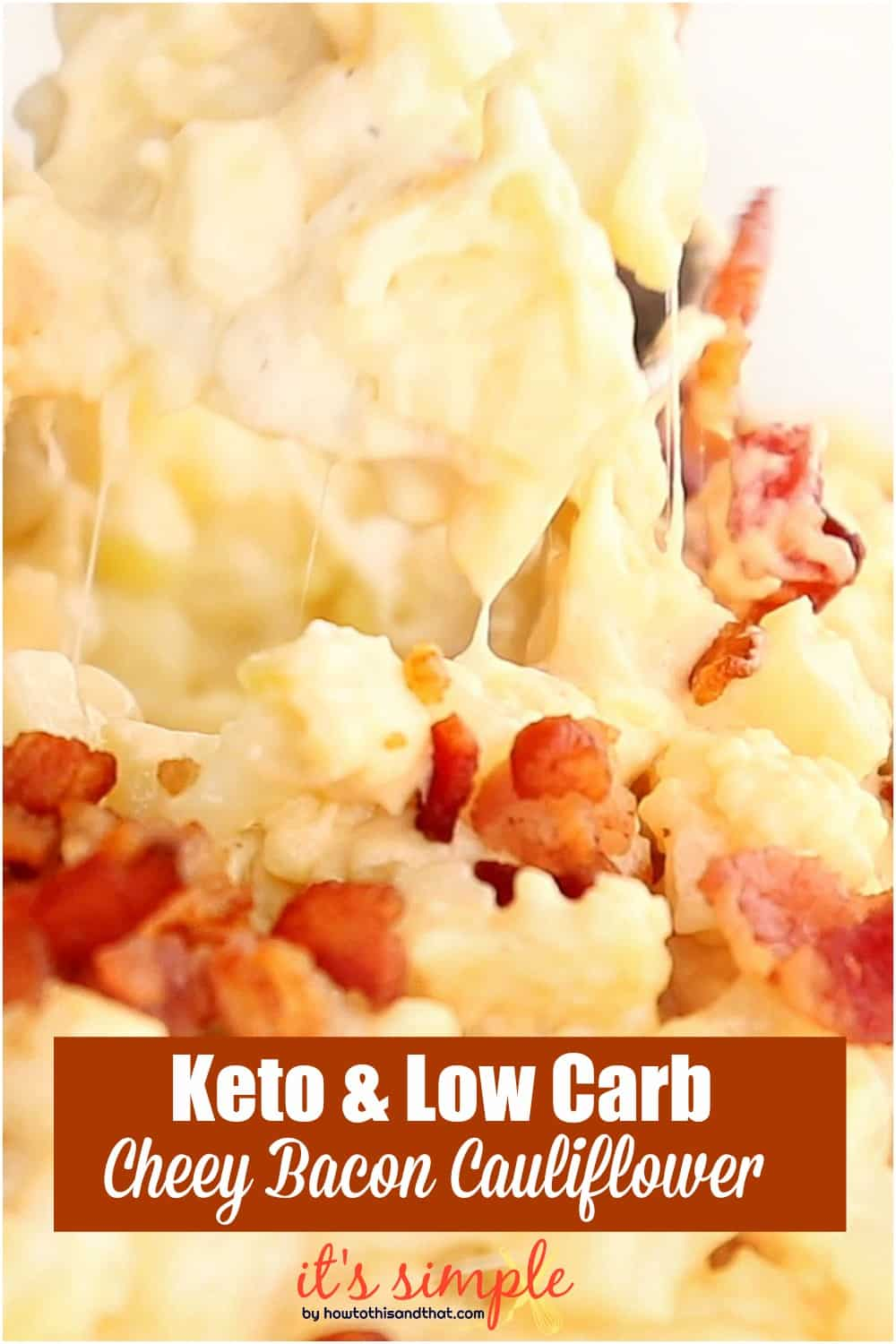 keto cheesy cauliflower