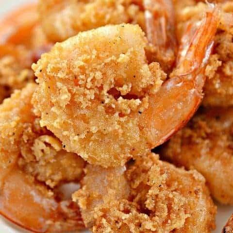 Keto Fried Shrimp Crispy Juicy Optional Air Fryer