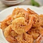 Keto Crispy Fried Shrimp