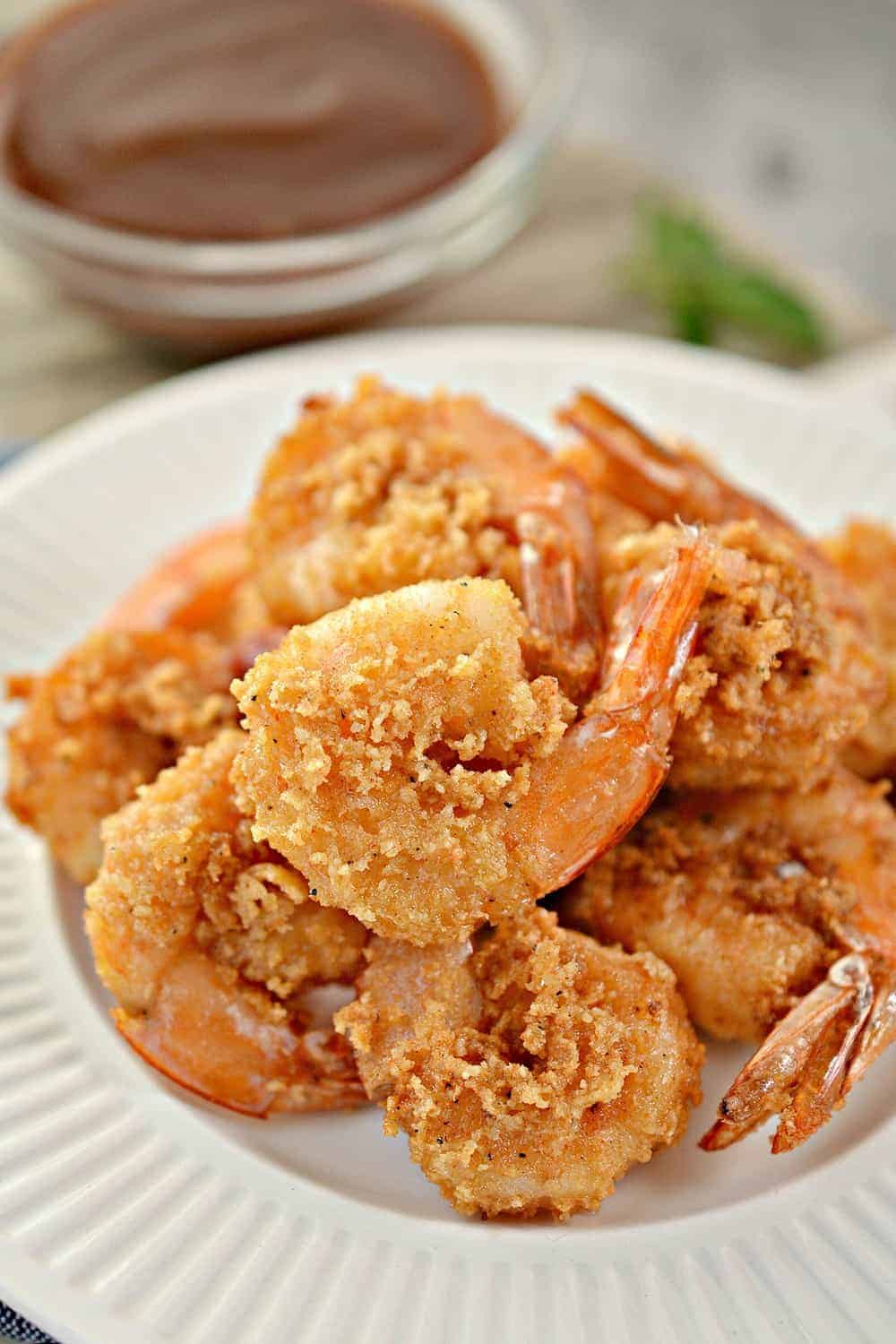 KETO CRISPY FRIED SHRIMP