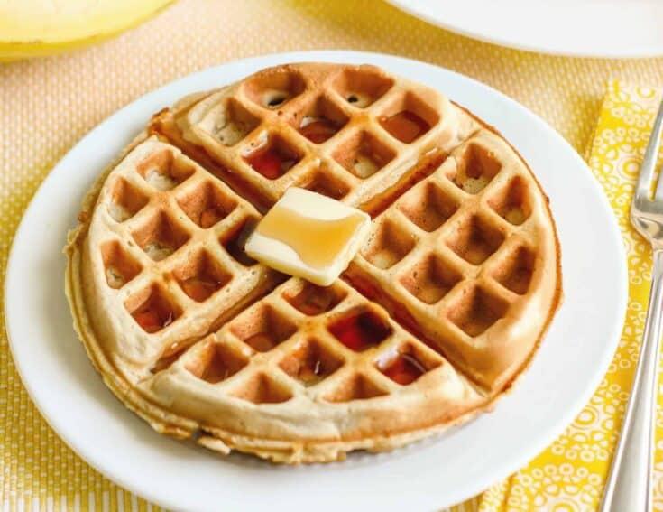 How To Make Restaurant Style Homemade Belgian Waffles
