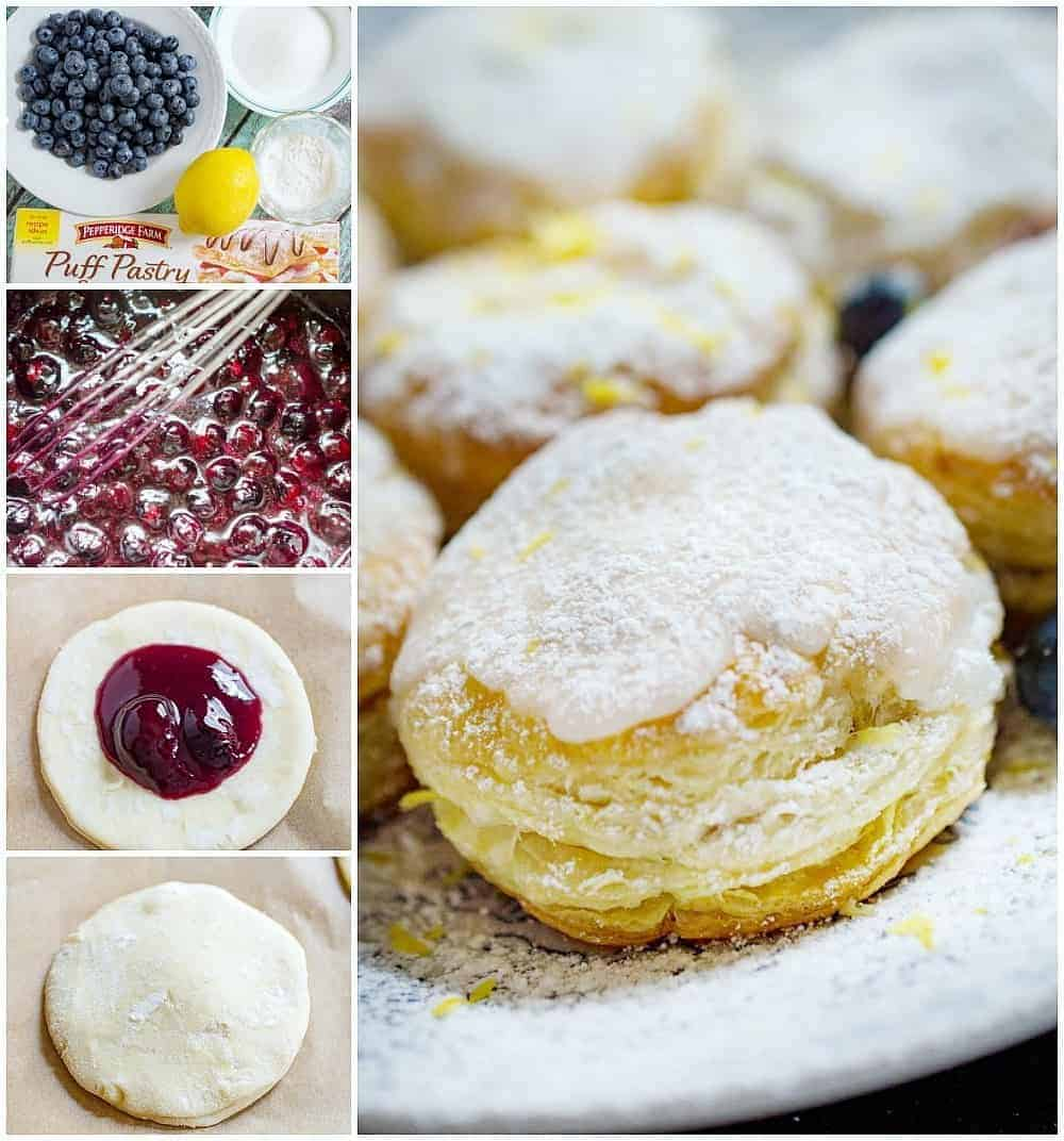 puff pastry donuts