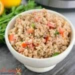 Instant Pot Bulgur Salad