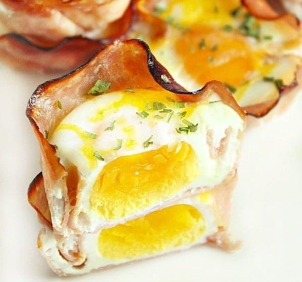 Keto Eggs Benedict Muffin Tin Recipe