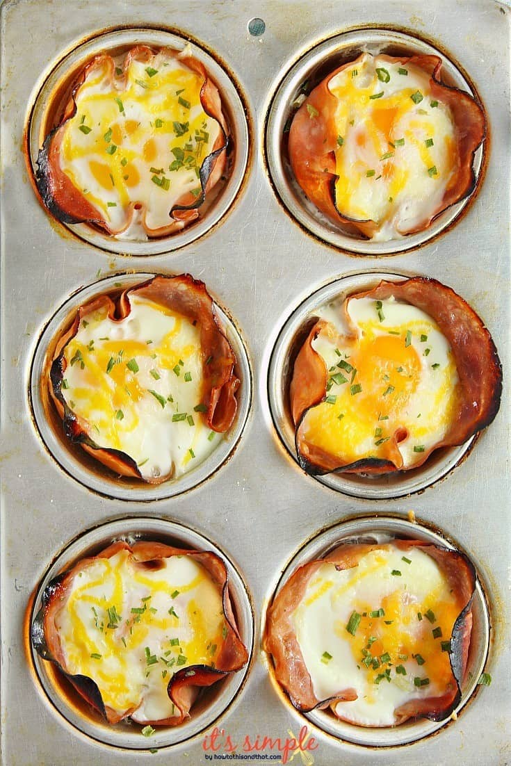 muffin tin breakfast recipes