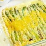Cheesy Ham & Asparagus Frittata