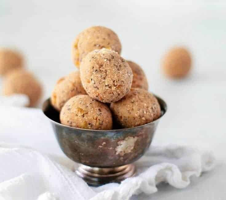Keto No Bake Recipe- Peanut Butter Energy Bites