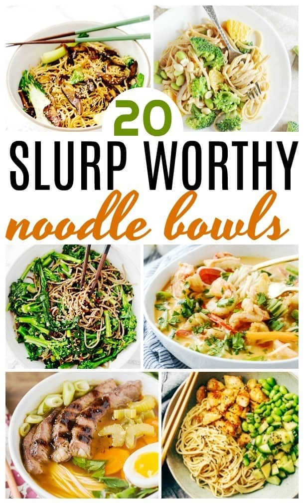 noodle bowl recipes
