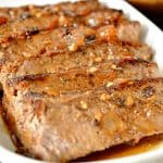 Pan Seared Steak & Au Jus