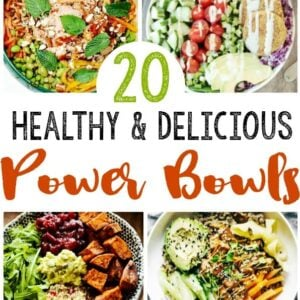 healthy power bowl recipes