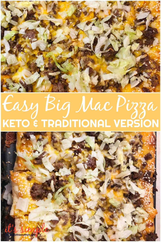 big mac sauce keto