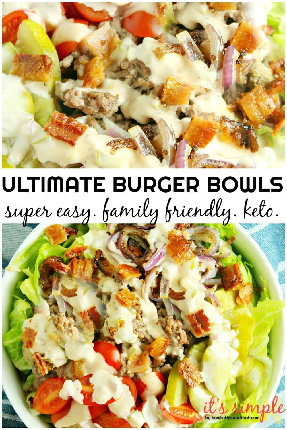 burger bowl recipe