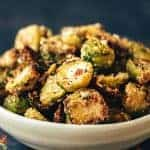 Everything Bagel Seasoned Brussel Sprouts
