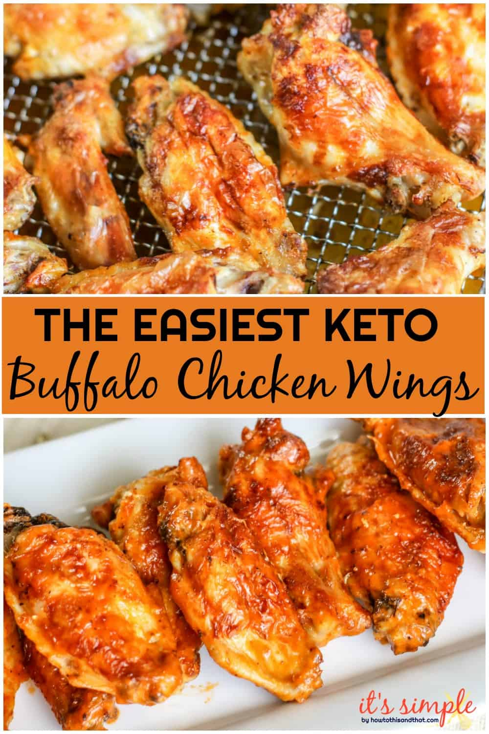 Keto Low Carb Buffalo Wings Air Fryer And Oven Recipe